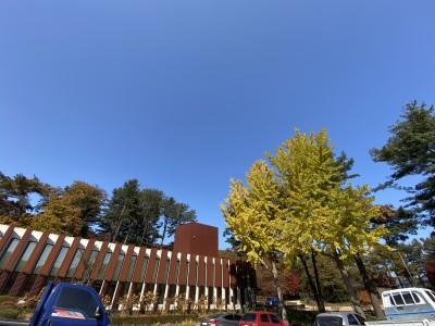광릉추모공원 사무실 가을풍경