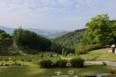 천혜의 자연, 광릉숲에 자리한 광릉추모공원
